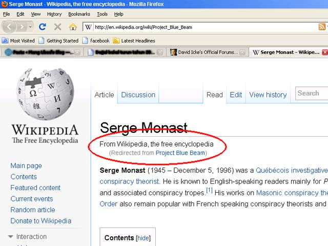 Serge Monast